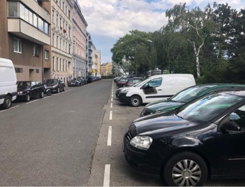 Diefenbachgasse: FPÖ erreicht legales Schrägparken