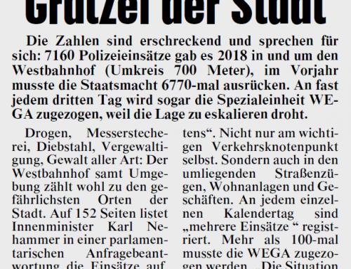 Multi-Kulti in Zahlen: 13.930 (!!!) Polizeieinsätze in 2 Jahren rund um den Westbahnhof